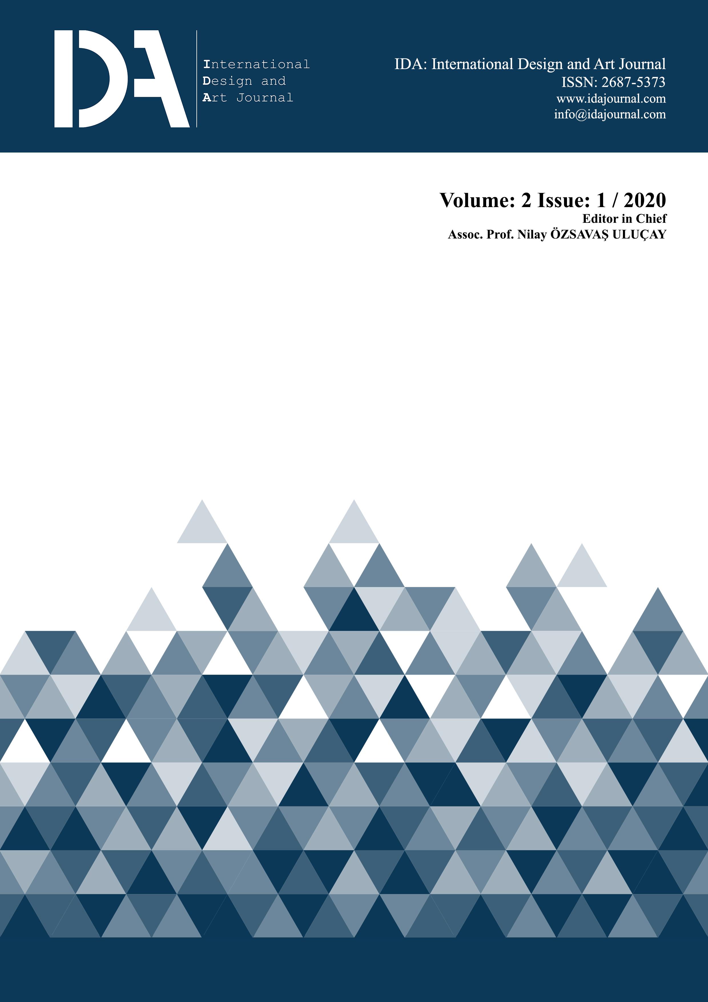 View Vol. 2 No. 1 (2020): IDA: International Design and Art Journal